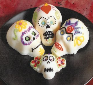 White Chocolate Skulls