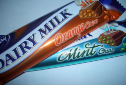 Mint Cadbury Chocolate Bars