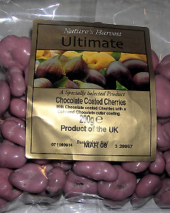 Nature's Harvest Ultimate Chocolate Coated Cherries
