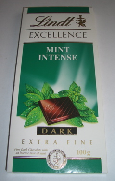 Lindt Excellence Mint Intense