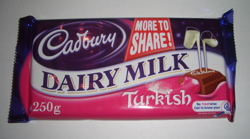 Dairy Milk with Turkish