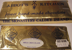 Caldey Island Chocolate