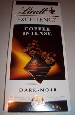 Lindt Excellence Coffee Intense