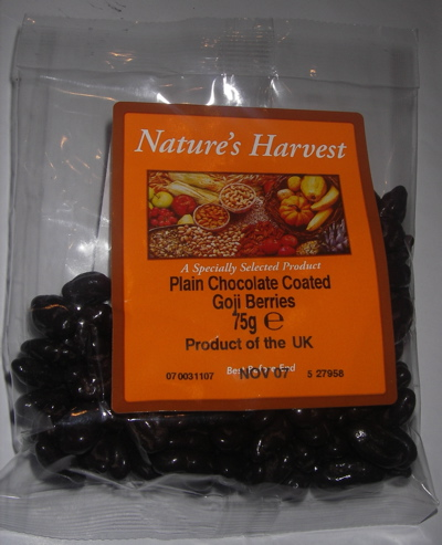 Holland & Barrett Chocolate Coated Goji Berries