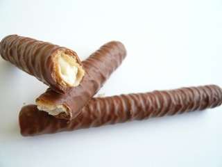 Milky Way Crispy Rolls