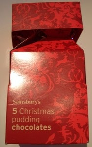 Sainsbury's Christmas Pudding Chocolates