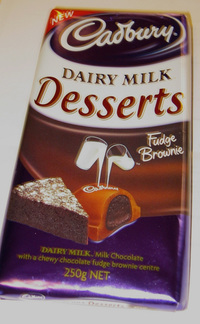 Cadbury Desserts Brownie