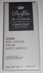 Dolfin Dark Chocolate Taster Bars