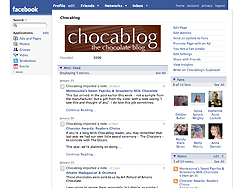 Chocablog on Facebook