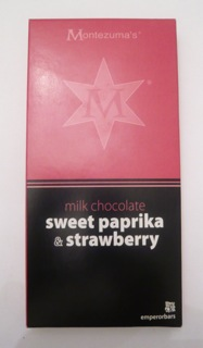 Montezuma's Sweet Paprika & Strawberry Milk Chocolate