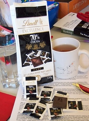 Lindt Excellence 70% Squares