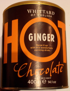 Whittards Hot Chocolate with Ginger