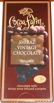 Cocoa Farm Shiraz Vintage Chocolate