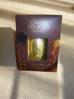 Green &#038; Blacks Easter Egg