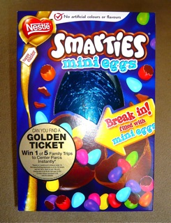 Smarties Mini Eggs Easter Egg