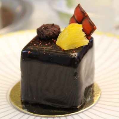 Beautiful amp delicious Jaffa cake by sbpatisserie corinthialondon Continue readinghellip