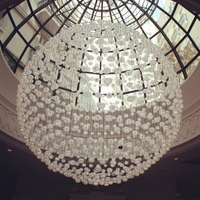 Wonder if this chandelier will fit in my shop Continuehellip