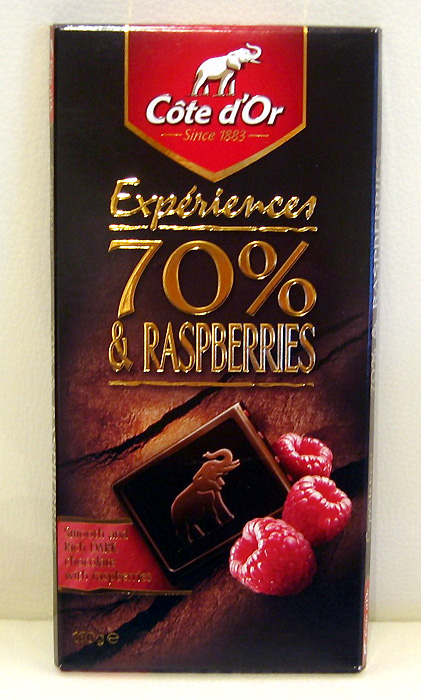 C��te DOr 70% And Raspberries Chocolate Review