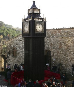 Chocolate Clock Tower