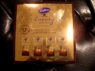 Cadbury Luxury Selection 72%