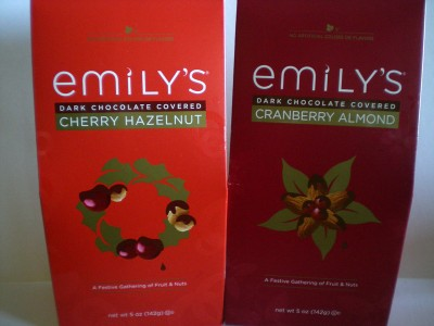 Emily's Cherry Hazelnuts and Cranberry Almonds