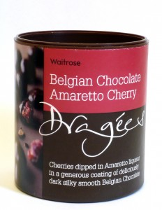 Waitrose Belgian Chocolate Amaretto Dargées