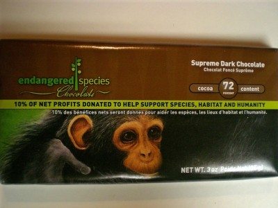 Endangered Species Supreme Dark Chocolate