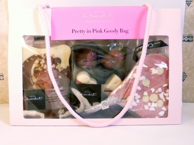 Hotel Chocolat Pretty In Pink Goody Bag