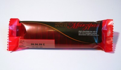 Marks & Spencer Marzipan Bar
