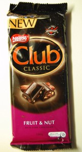 Nestlé Club Classic Fruit & Nut