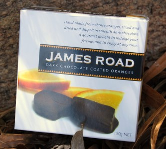 James Road Dark Chocolate Coated Oranges