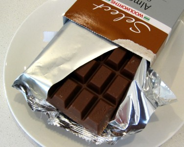 Woolworths Select Almond Chocolate