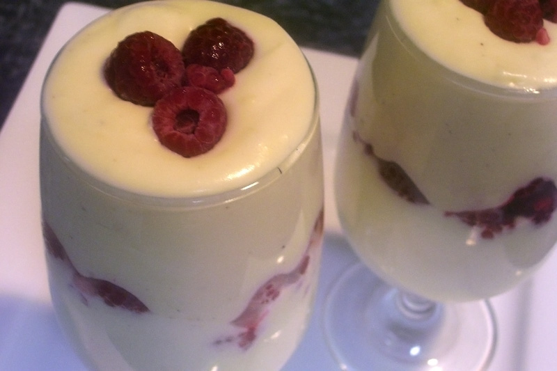 Raspberry White Chocolate Mousse Recipe — Dishmaps