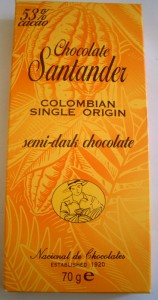Chocolate Santander Colombian Single Origin