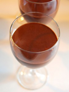 Coffee Liqueur Chocolate Mousse