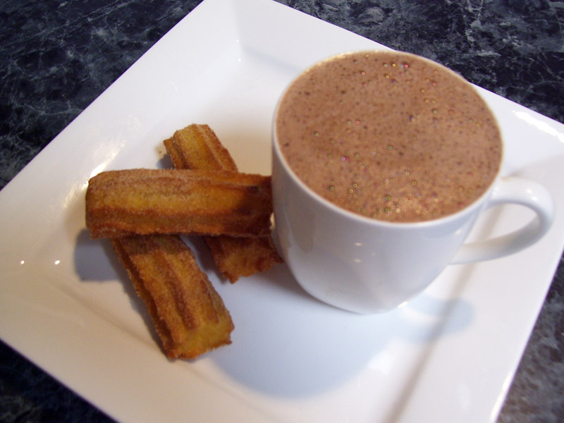In Mexico, hot chocolate is a popular national drink, often served with