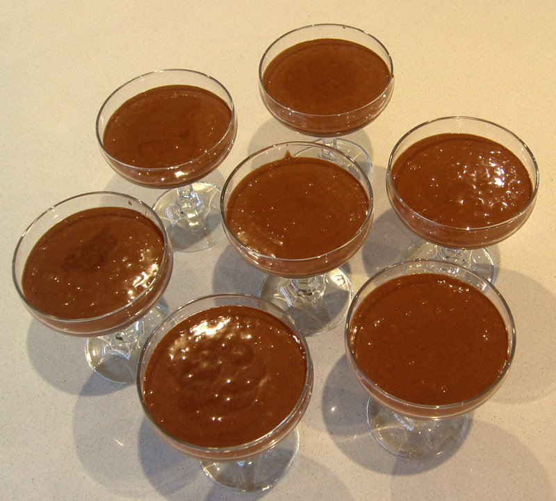 chocolate mousse recipe. Lazy Chocolate Mousse