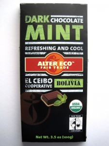Alter Eco Dark Chocolate Mint