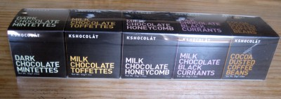 Kshocolât Mini Cube Gift Set