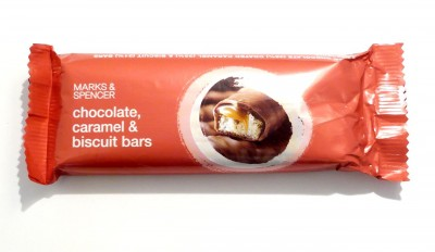 Marks & Spencer Chocolate Caramel & Biscuit Bar