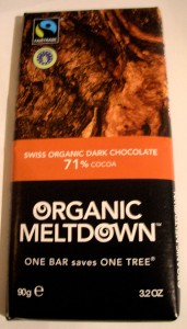 Organic Meltdown Dark Chocolate