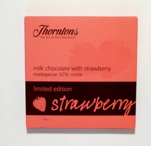 Thorntons Milk Chocolate With Strawberry
