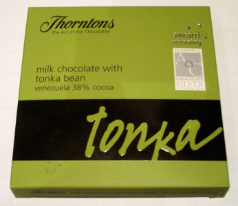 Thorntons Milk Chocolate with Tonka Bean