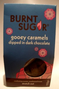 Burnt Sugar Gooey Caramels Dipped in Dark Chocolate