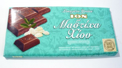 ION Dark Chocolate With Chios Mastiha