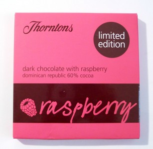 Thorntons Dark Chocolate With Raspberry