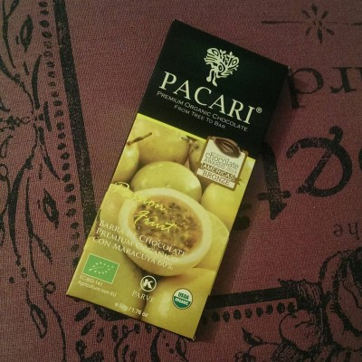 Todays evening snack pacarichocolate Passion Fruit Continue reading rarr
