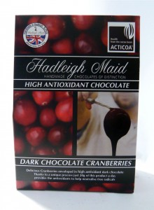 Hadleigh Maid Dark Chocolate Cranberries