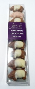 James Handmade Chocolate Piglets