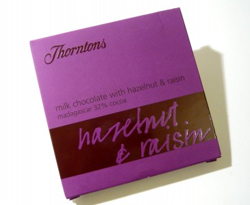 Thorntons Hazelnut & Raisin